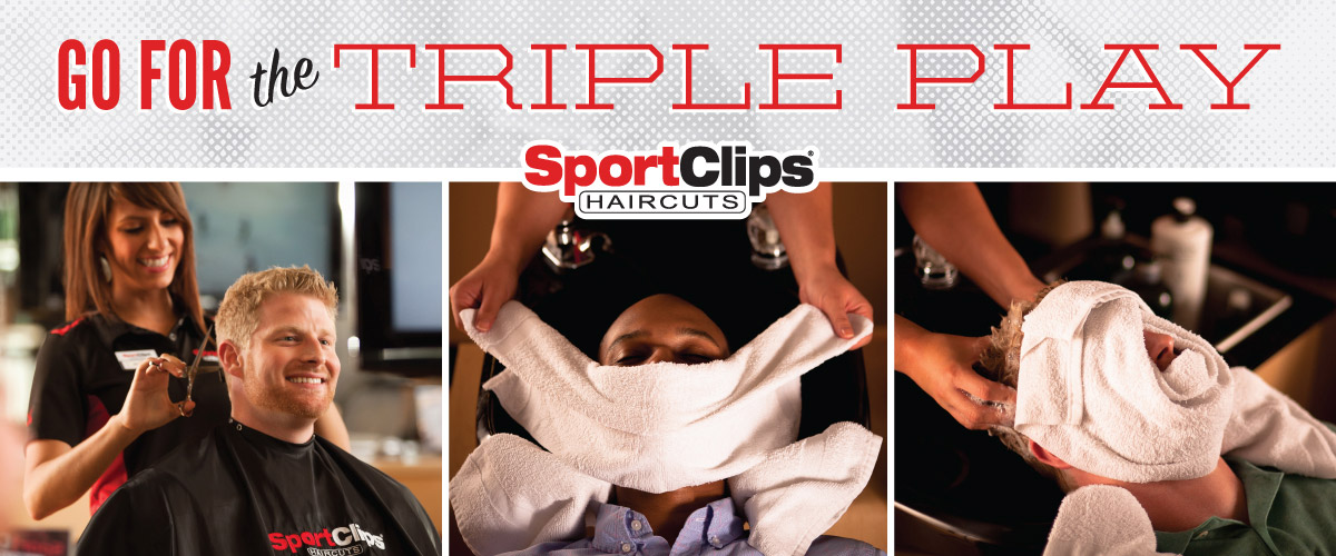 The Sport Clips Haircuts of Davis  Triple Play